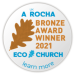 A Rocha Bronze Award Winner 2021 Eco Church